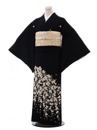 留袖 レンタル 4350刺繍垂れ桜
