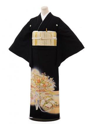 留袖 レンタル Q5-68ぼかし模様に祝い柄