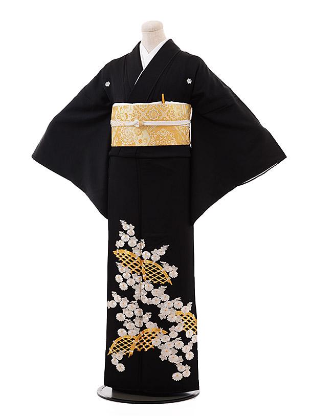 留袖 レンタル 5367 刺しゅう 菊