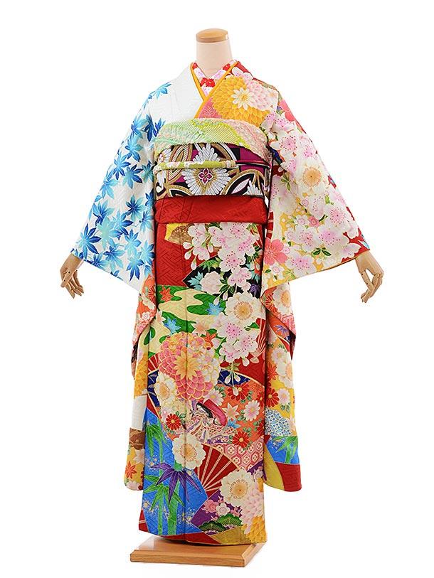 振袖 1068 [JAPAN STYLE]×ちはやふる赤地 古典