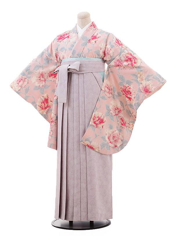 卒業袴レンタル h096 JILLSTUART ピンク×パープル