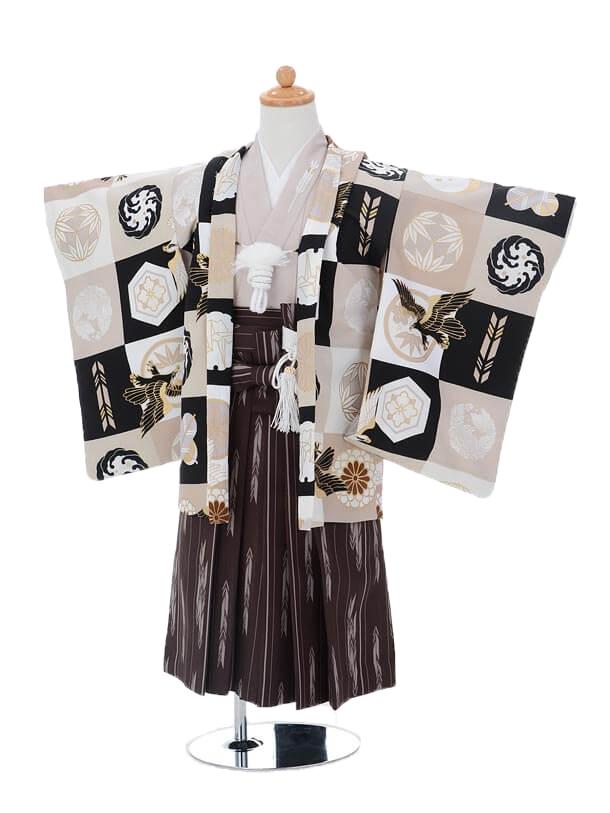 かんたん七五三(3歳男袴)0203照栄×JS鷹×菊