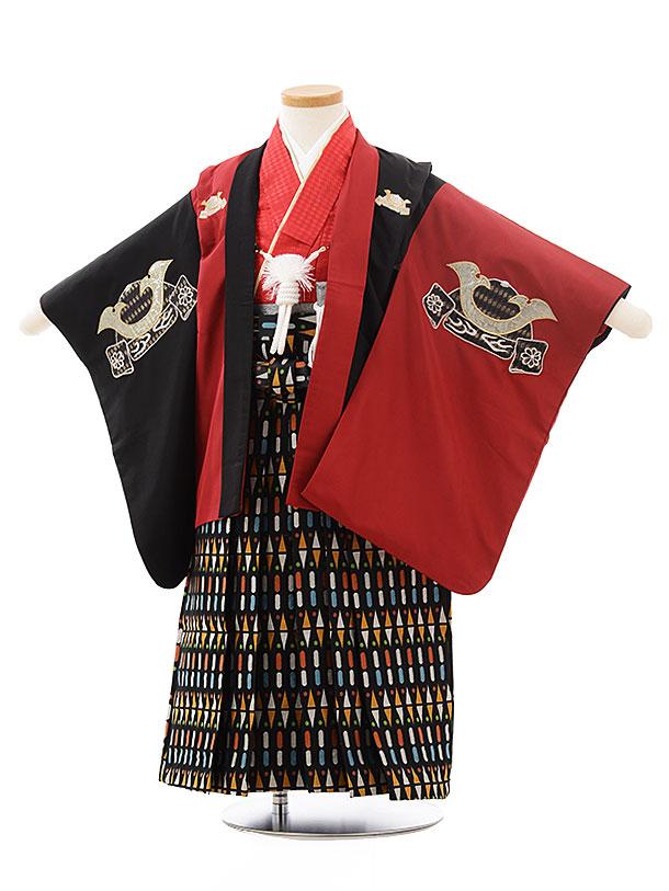かんたん七五三(3男袴)0277 ひさかたろまん 黒×」