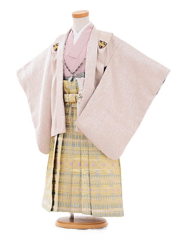 七五三(3歳男袴)2125 ひさかたろまん ピンクラメ