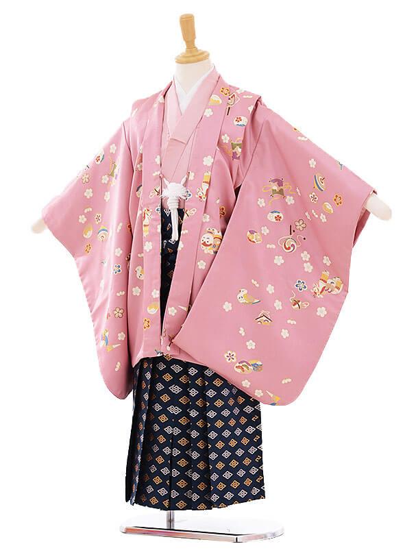 七五三(5歳男袴) H067 ピンク おもちゃ