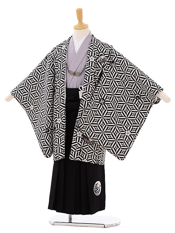 七五三(5歳男袴)I029 JAPANSTYLE 黒