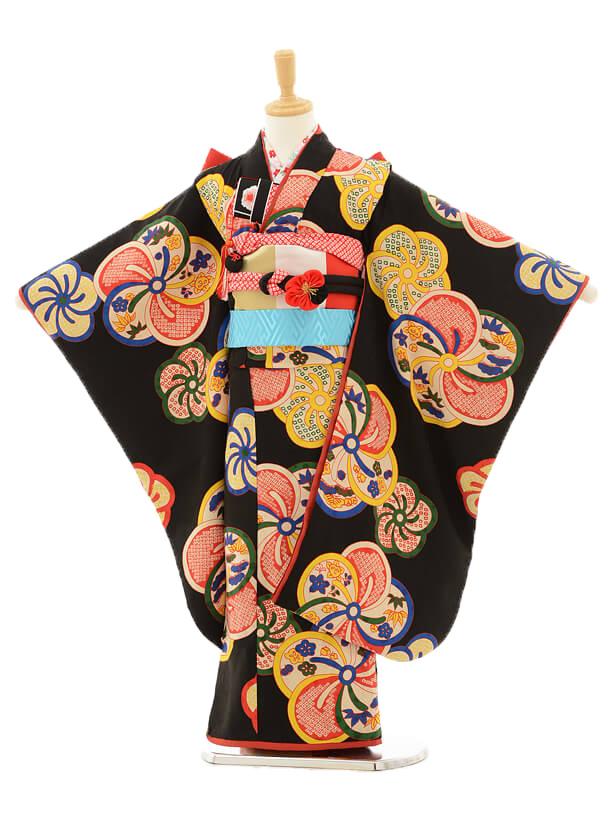 七五三レンタル(7歳女の子結び帯)7147 モダンアンテナ×ジャパン