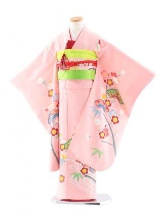 七五三レンタル(7歳女児袋帯) 最高級正絹 7