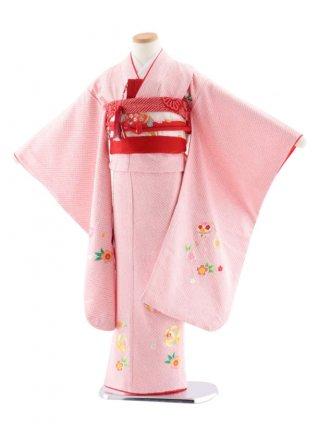 七五三レンタル(7歳女児袋帯) 高級正絹 774