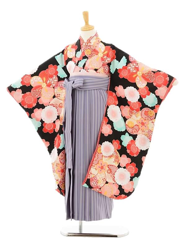 女児袴(7女)0744 乙葉黒古典×パープ