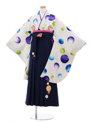 卒業袴レンタルZ154 JAPAN STYLExちはやふる白水玉 x紺袴