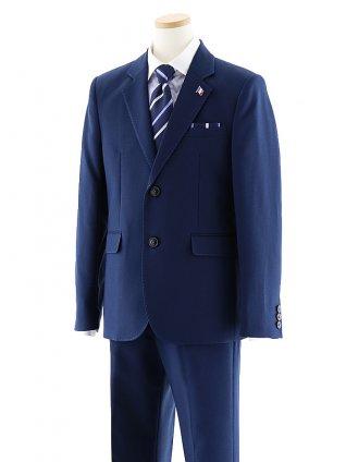 [男児スーツ]長ズボン ストライプ ネイビースーツ 0066 150㎝~