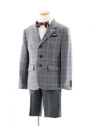 [男児スーツ]ELLE ウインドウペンJKスーツ0092 110㎝~