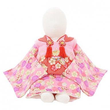 女児【100日~1歳用】 0044 ピンク桜とまり/セパレート