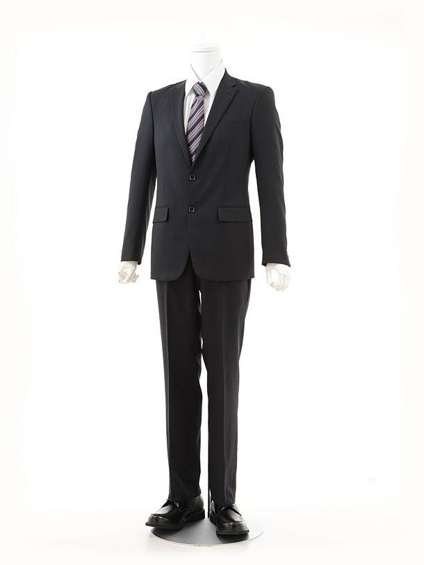 男性スーツ0001紺シングル(A6)
