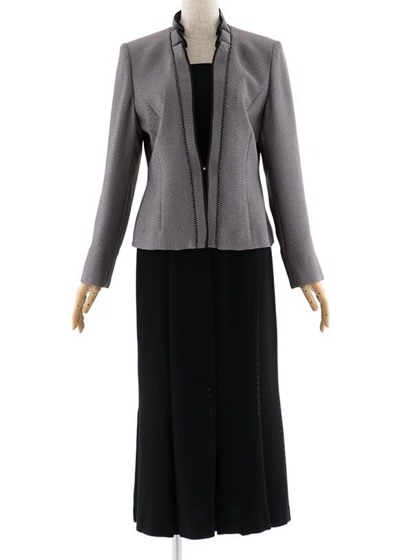 女性スーツ  0016 セレモニースーツ ブラウン 9号~