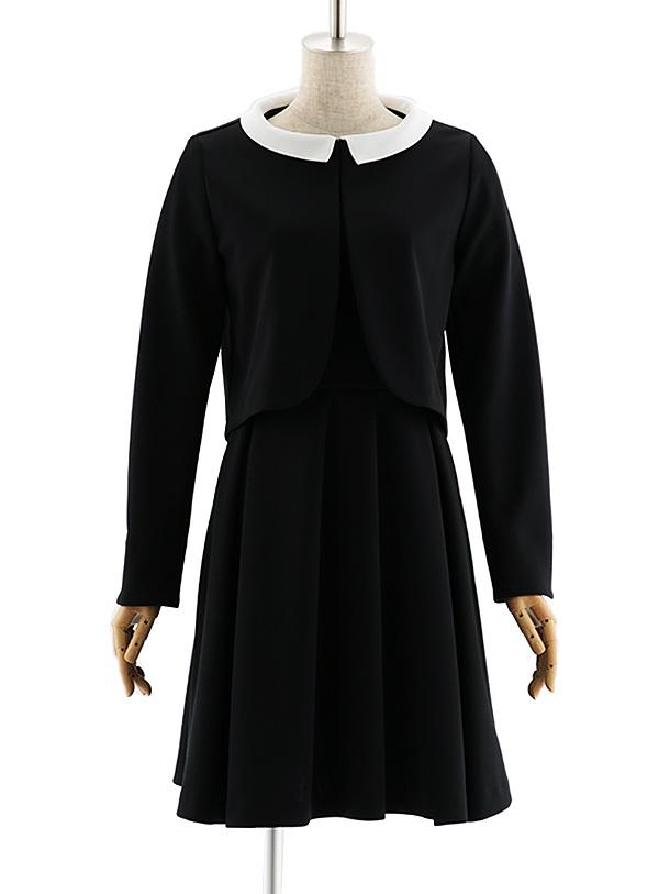 女性スーツ 0047 【TAO ETTTA】ワンピース ブラック S~L
