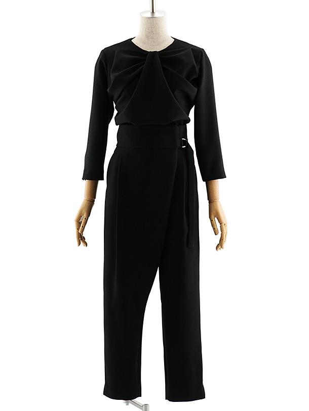 女性スーツ 0049 【TAO ETTTA】パンツスタイル ブラック S~L