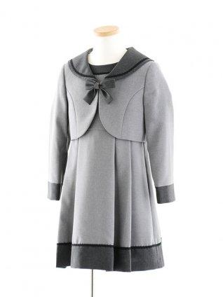 女児フォーマルスーツ セーラー襟アンサンブル 0116 120cm
