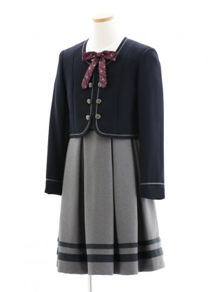 【ゆったりサイズ】女児フォーマルスーツ アンサンブル0143
