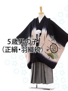 羽織袴(五歳正絹)
